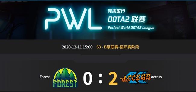 Forest vs  AC完美世界pwlA級聯賽循環賽s3 視頻回顧