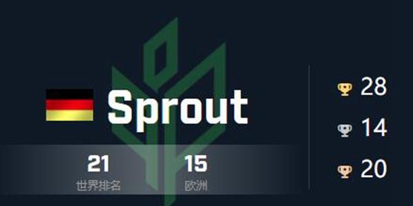 csgo战队Sprout成员队伍详细介绍