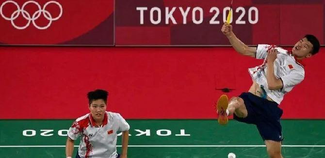 奥运会羽毛球混双四强