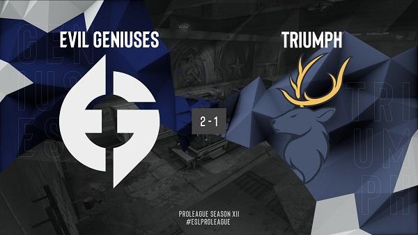 EPL S12北美區:Evil Geniuses 2-1 Triumph