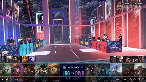 S10小組賽第六日JDG vs DWG比賽回顧、視頻、數據
